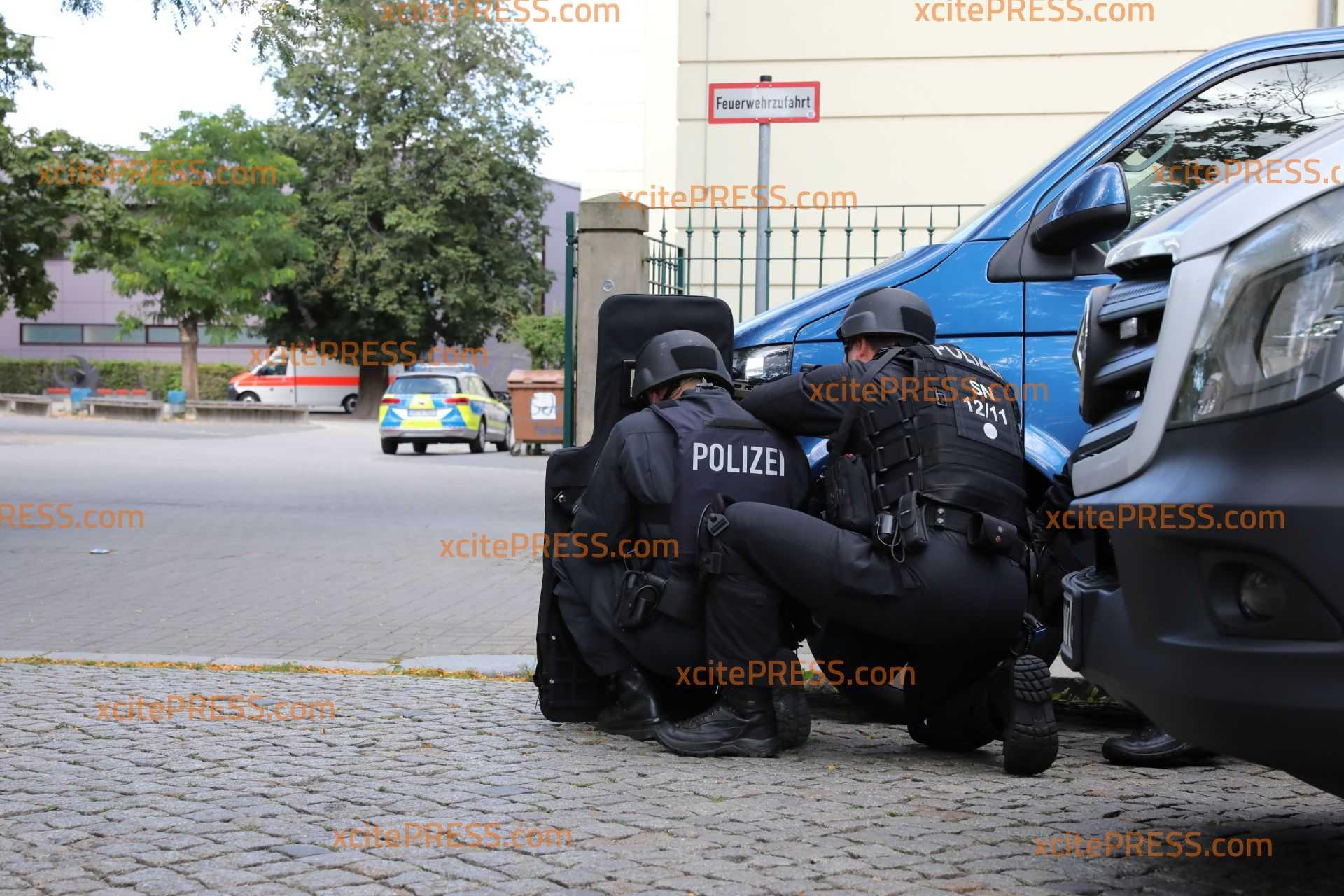 Ammoklauf an Oberschule - Polizei übt den Ernstfall: