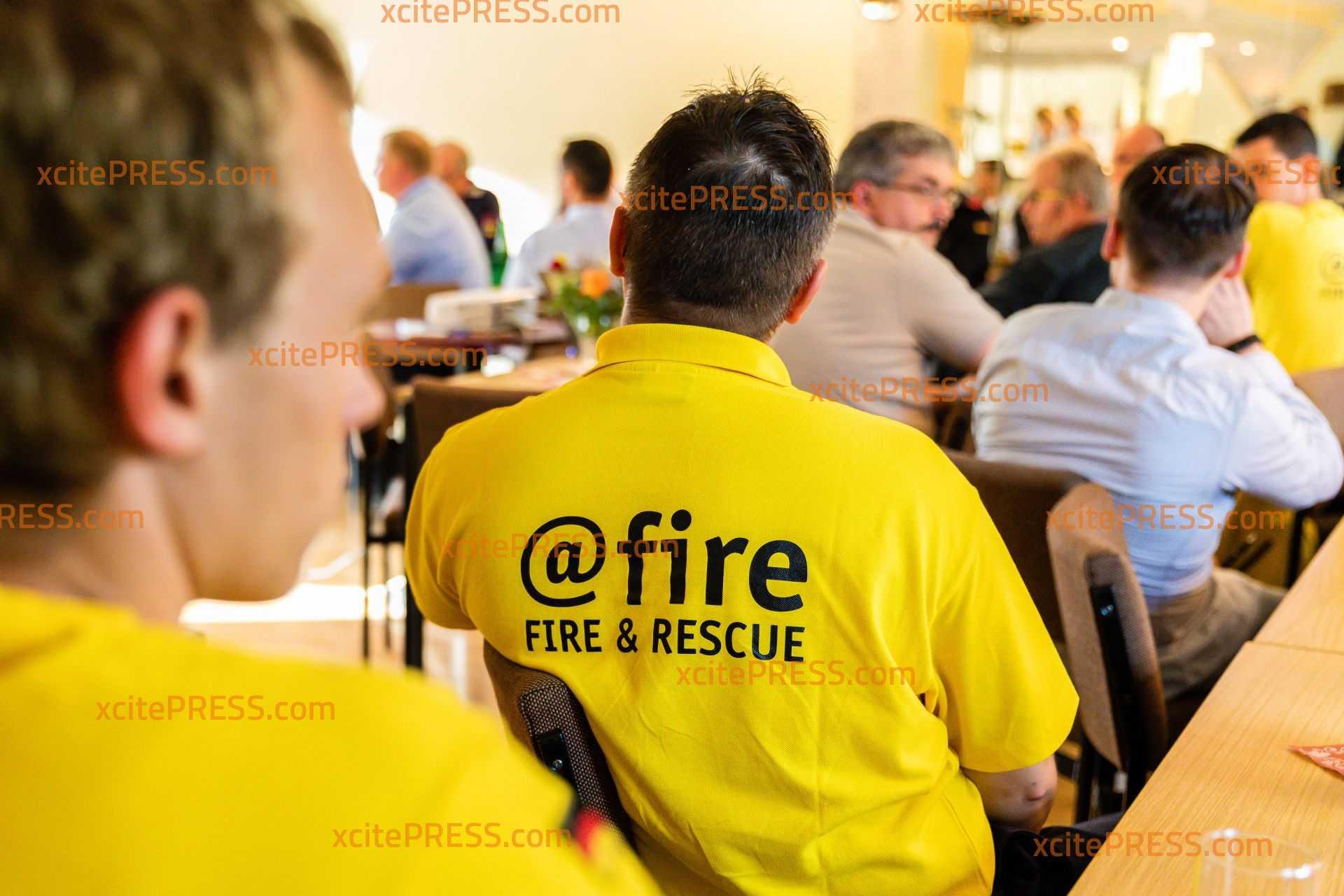 Waldbrandspezialisten beim