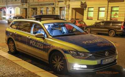 Überfall auf Friseursalon in Dresdener Johannstadt: Mann bedrohte Personal mit pistolenähnlichen Gegenstand und erbeutete Tageseinnahmen