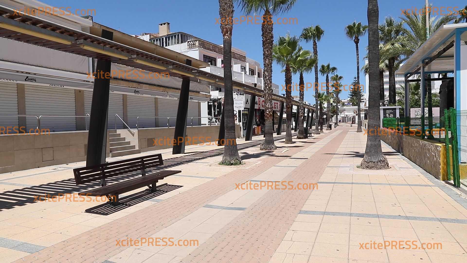 Ferienorte auf Mallorca durch Corona wie ausgestorben: Nichts los in den sonst so beliebten Städten