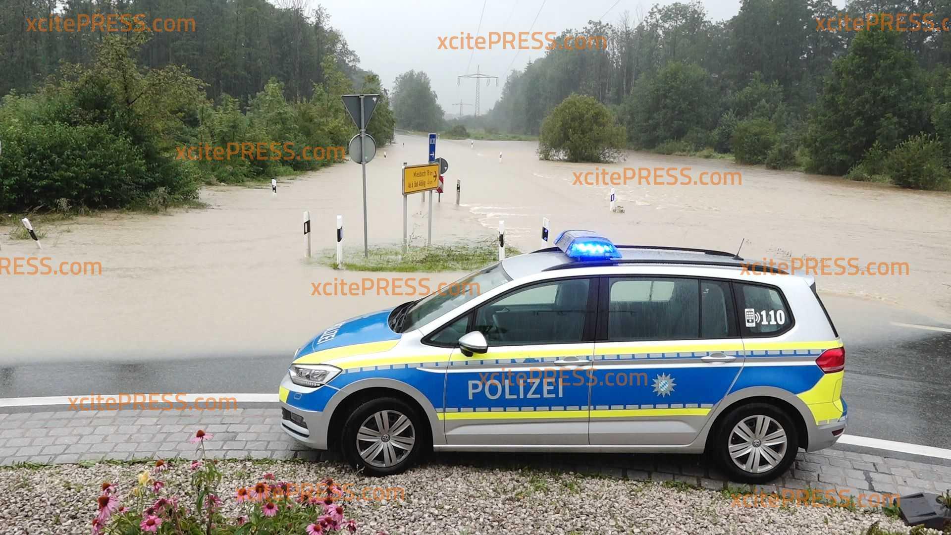Auch die Polizei