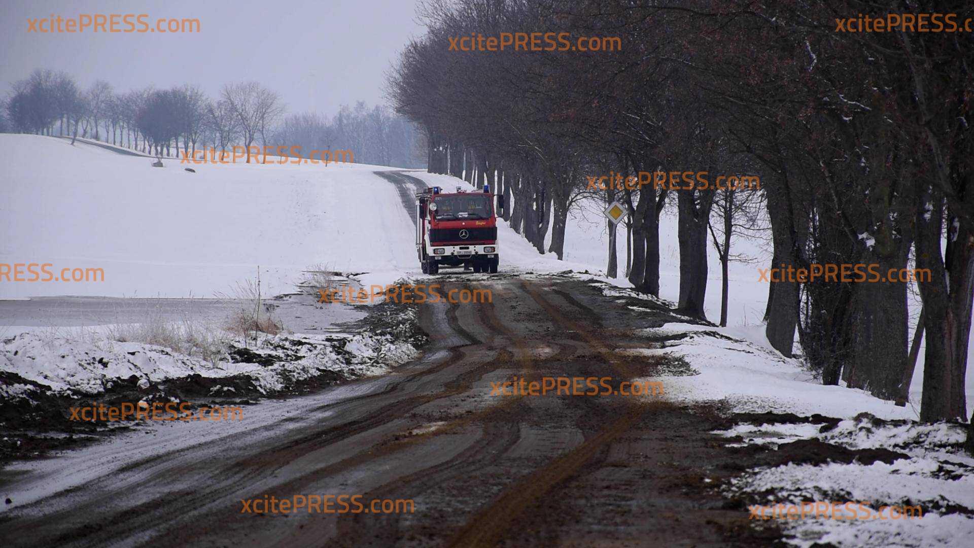 Güllebecken übergelaufen: Feuerwehr im Einsatz