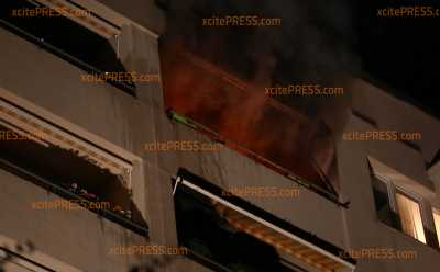 Im 10. Stock: Brand im Hochhaus: 2 Verletzte, einige Wohnungen derzeit unbewohnbar