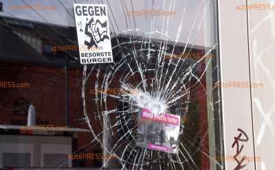 Vermummte demolieren Bar & Spätshop: Landfriedensbruch in der Dresdner Neustadt