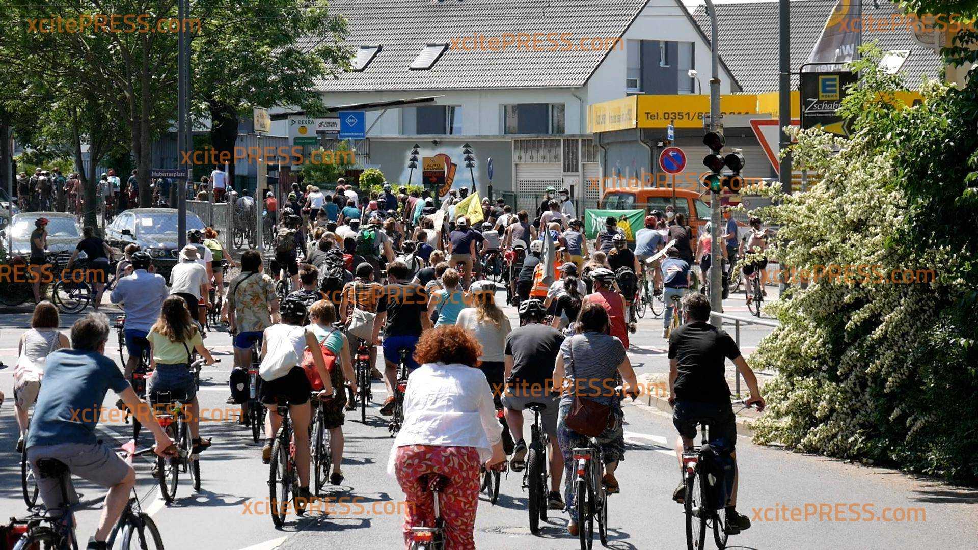 Fahrrad-Demo gegen A4-Ausbau: Teil der Aktionstage des Bündnisses